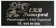 Annonse EKB Transport