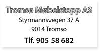 Annonse Tromsø Møbelstopp AS